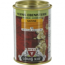 Vernis ébénisterie - Satiné - Chêne clair - 250 ml - AVEL