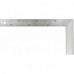 Équerre de menuisier en aluminium - 400 mm - OUTIBAT
