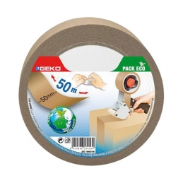 Adhésif d'emballage Kraft - 50 x 50 mm - GEKO