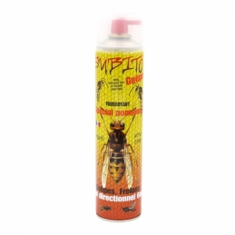 Répulsif Guêpes et Frelons - Haute pression - Spécial pompiers - 600 ml - SUBITO