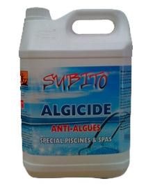 Anti algues - Algicide polyvalent - 5 L - SUBITO