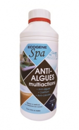 Anti-algues multiactions liquide pour spa - 1 L - ECOGENE