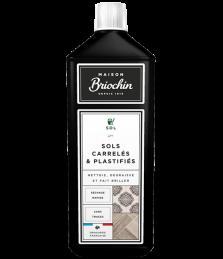 Nettoyant sols carrelés et plastifiés - 1 L - BRIOCHIN