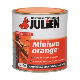 Primaire antirouille - Minium Orange - 0.5 L - JULIEN