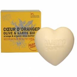 Coeur d'Oranger Olive & karité bio - 200 Grs - ALEPPO