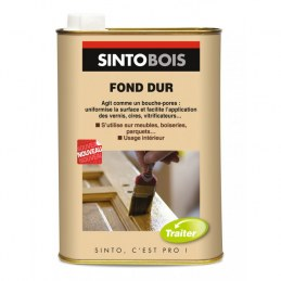 Fond Dur - Protection et bouche pores - 500 ml - Incolore - SINTO