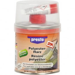 Résine polyster - 250 Grs - PRESTO