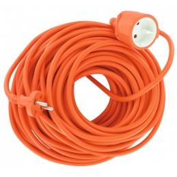 Rallonge de jardin - 2P + T - 50 M - Orange - DHOME