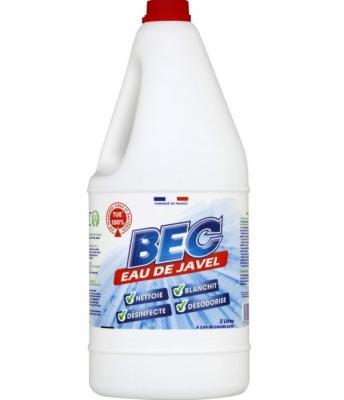 Javel non parfurmé - 2.6 % - 2 L - BEC