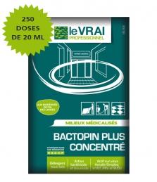 250 doses de désinfectant Bactopin Plus concentré - LE VRAI PROFESSIONNEL