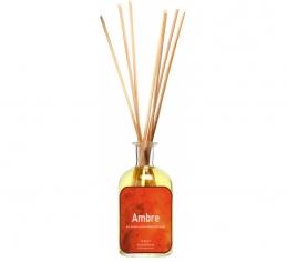 Bambous parfumés - Ambre - 100 ml - LAMPE DU PARFUMEUR