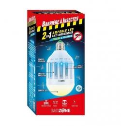 Barrière à Insectes - Ampoule LED anti-moustiques 2 en 1 - Barzone - 45 m² - BARRIERE A INSECTES