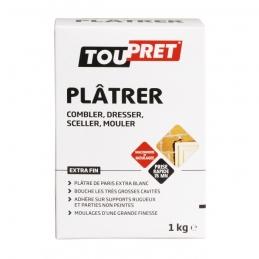 Plâtre fin de Paris - Blanc - 1 Kg - TOUPRET