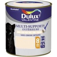 Peinture multi-supports extérieure - Satin - 0.5 L - Blanc cassé - DULUX VALENTINE