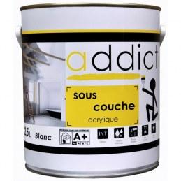 Sous-couche acrylique - Blanc - 2.5 L - ADDICT