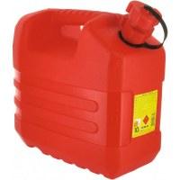 Jerrican rouge 10 L avec bouchon verseur - EDA