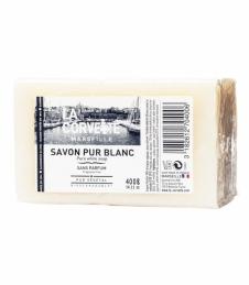 Savon Pur Blanc - Menager - 400 Grs - LA CORVETTE