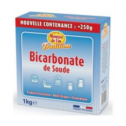Mousse de Lin Tradition Bicarbonate de Soude - 1 Kg