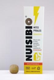 Billes anti-mites alimentaires en cèdre - 5 billes - NUISIBIO