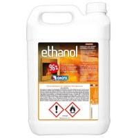Bio alcool combu p/cheminée alcool 5l - ONYX