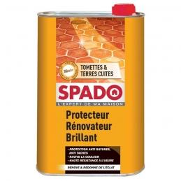 Rénovateur et protecteur brillant - Tomettes & Terres cuites - Blindor - 1 L - SPADO