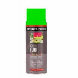 Aérosol de peinture - Effet Fluo - Vert - 400 ml - SINTO