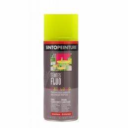 Aérosol de peinture - Effet Fluo - Jaune - 400 ml - SINTO