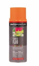 Aérosol de peinture - Effet Fluo - Orange - 400 ml - SINTO