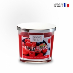 Bougie parfumée - Fruits rouges - 110 Grs - Frenchie Bougie - BOUGIES LA FRANCAISE