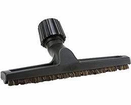 Brosse d'aspirateur universelle - Spécial parquet - Noir - de 30 à 38 mm