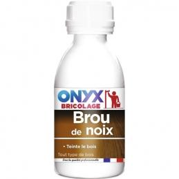 Dégraissant bois bruts et teinture - Brou de noix - 190 ml - ONYX