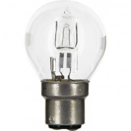 Ampoule halogène ECO - Sphérique - B22 - 42 W - 625 Lumens - DHOME