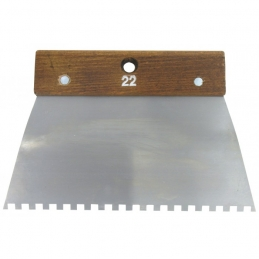 Peigne en acier Cambre - 22 cm - Denture carrée 6 x 6 mm - 6 x 6 mm - OUTIBAT