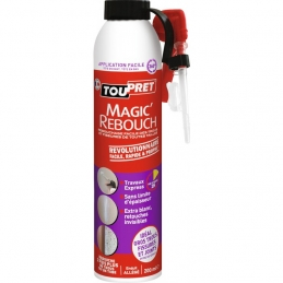 Enduit de rebouchage Aérosol - Magic'Rebouch - 200 ml - TOUPRET