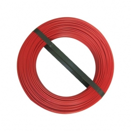Couronne de 100 M - Rouge - H07 V-U 1,5 mm² - ELECTRALINE