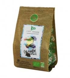 Capsules de café BIO pour Nespresso - Colombie - MAISON TAILLEFER