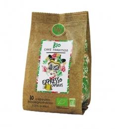 Capsules de café BIO pour Nespresso - Expresso - MAISON TAILLEFER