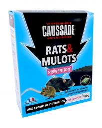 Rats & mulots - Céréales + poste d'appatage - Prévention - 100 Grs - CAUSSADE