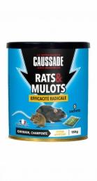 Rats et mulots - Efficacité radicale - Céréales - 150 Grs - CAUSSADE