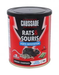 Rats et souris - Forte infestation - Céréales - 150 Grs - CAUSSADE