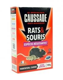 Rats et souris - Pat'appât espèces résistantes - 150 Grs - CAUSSADE