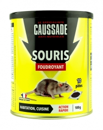 Souricide - Pat'Appat foudroyant - 100 Grs - CAUSSADE