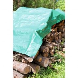Bâche de protection pour bois - 2 x 8 m - CAP VERT