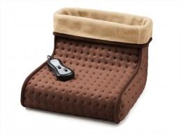 Chauffe-pieds massant avec télécommande - Marron - ASTORIA