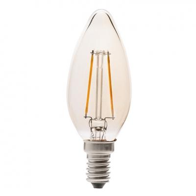 ampoule led filament vintage e14 chandelle 2 w faro. Black Bedroom Furniture Sets. Home Design Ideas