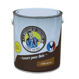 Lasure acrylique pour Bois - Teinte Chêne moyen - 2.5 L - ONIP