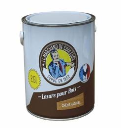 Lasure acrylique pour Bois - Teinte Chêne naturel - 2.5 L - ONIP