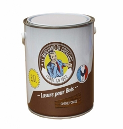 Lasure acrylique pour Bois - Teinte Chêne foncé - 2.5 L - ONIP