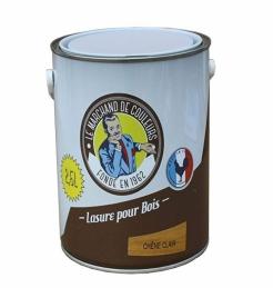 Lasure acrylique pour Bois - Teinte Chêne clair - 2.5 L - ONIP
