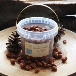 Petit seau de cacahuètes grillées sucrées - 350 Grs - LES GOURMANDISES DE SOPHIE